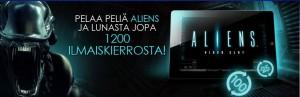 CasinoEuro Aliens Ilmaiskierros Tarjous