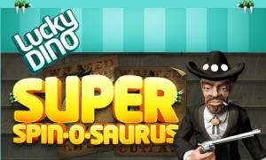 LuckyDino Super Spin o Saurus