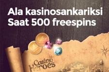 Casino Heroesilta ilmaiskierroksia