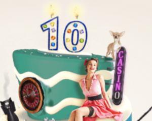 casinohuone 10 vuotta