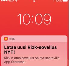 Lataa Rizkin uusi sovellus Apple Storesta