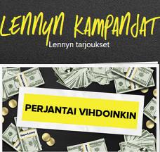 Nappaa osuus 2000 €:sta SuperLennyllä