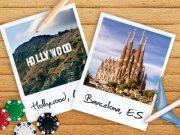 Casinohuoneelta Hollywoodiin tai Barcelonaan